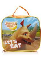 Jungle Beat - Rhino Lunch Box Orange
