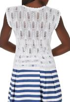 STYLE REPUBLIC - Knit Pull-over Cami White