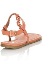 Bata - T-bar Sandals Coral