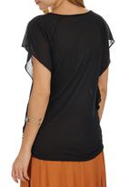 edit - Batwing T-shirt Black
