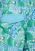 London Hub - Printed Swim Short Multi-colour