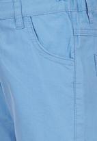 London Hub - Twill Shorts Pale Blue