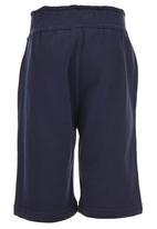 London Hub - Fleece Shorts Navy