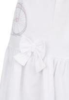 London Hub - Jersey Dress White