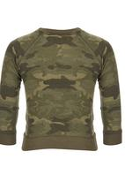 London Hub - Camo Sweatshirt Multi-colour