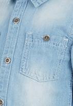 London Hub - Denim Shirt Pale Blue