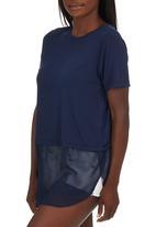 c(inch) - Combo T-shirt Navy