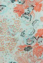 Precioux - Fringe Kimono Multi-colour