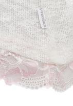 Precioux - Lightweight Lace Detail Sweater Milk