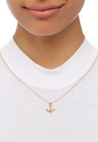 STYLE REPUBLIC - Anchor Necklace Gold