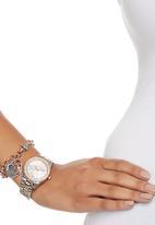 Badgirl - Boyfriend Watch with Matching Bracelet Multi-colour