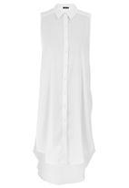 c(inch) - Long Length Shirt Milk