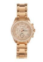 Fossil Watches - Decker Watch Rose gold