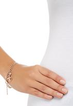 Fossil Jewellery - Twisted Metal Bracelet Rose gold