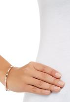Fossil Jewellery - Diamante Bangle Rose gold
