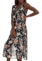 STYLE REPUBLIC - Floral Print Blouson Dress Multi-colour