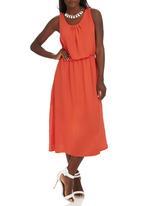 STYLE REPUBLIC - Blouson Dress Orange