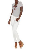 SOVIET - Kuta Skinny Jeans White