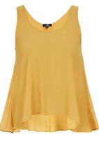 STYLE REPUBLIC - Scoop-neck Cami Yellow
