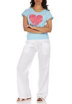 Lizzy - Sailormoon Pants White