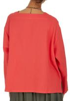 HABITS - Square Neck Top Coral