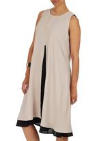 HABITS - Double Layer Dress Neutral