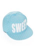 edit - Sweet Flat Cap Blue and White