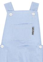 Just chillin - Pinstripe Dungaree Pale Blue
