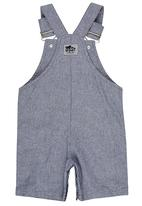 Just chillin - Striped Dungaree Navy