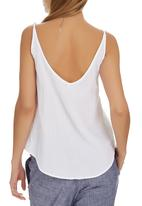 JUST CRUIZIN - Camisole White