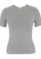 edit - Basic T-shirt Mid Grey