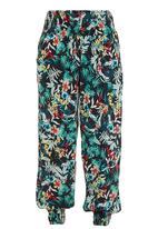 Revenge - Tropical Print Pants Multi-colour