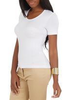 edit - Basic T-shirt White