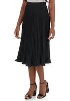 edit - Pleated Skirt Black