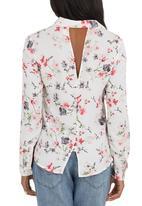 SOVIET - Key West Floral Shirt Multi-colour