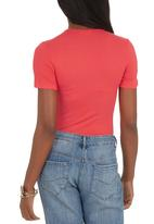 edit - Basic T-shirt Coral