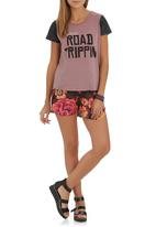 Rip Curl - Road Trippin T-shirt Red Red