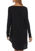 Rip Curl - Painter Stripe Dress Black/White Black and White