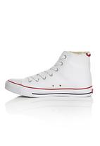 Levi's® - High Top Sneakers with Back Detail White