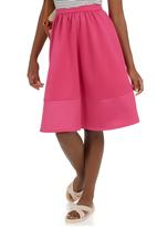 STYLE REPUBLIC - A-line Skirt Pink Mid Pink