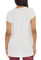 Me-a-mama - Lace T-shirt Milk