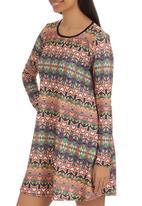 London Hub - Printed tunic Multi-colour