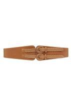 Fred Tsuya - Double Strap Waist Belt Camel/Tan