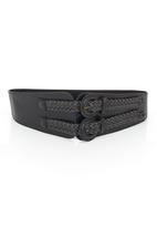 Fred Tsuya - Double Strap Waist Belt Black