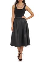 STYLE REPUBLIC - 50s Skirt Black