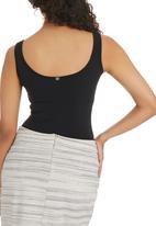 Paige Smith - Vest Bodysuit Black