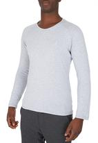 edge - Embroidered Long sleeve Pale Grey