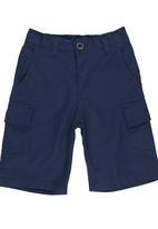 Retro Fire - Boys Twill Shorts Navy