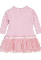 Luke & Lola - Baby tulle dress Mid Pink