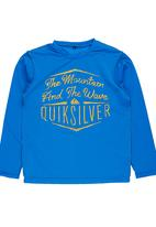 Quiksilver - Rash Vest Dark Blue
